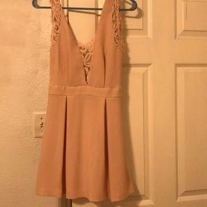 Bcbg lace detail dress